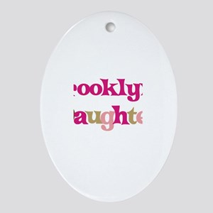 Brooklyn's Daughter Oval Ornament