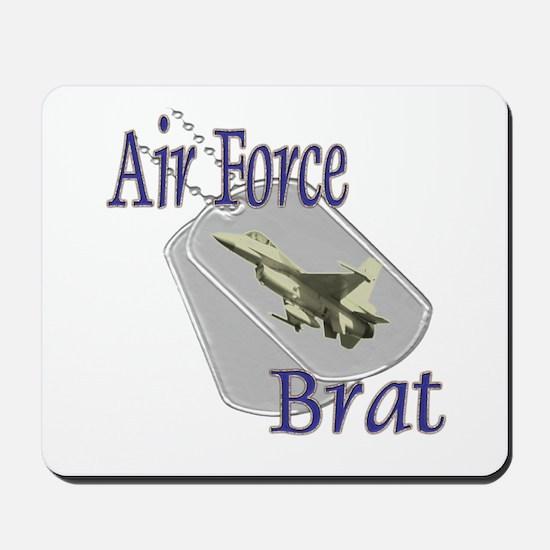 Jet Air Force Brat Mousepad