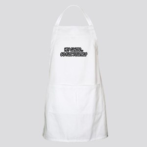 """Hey Cancer...Go Fuck Yourself"" BBQ Apron"