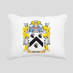Heady Coat of Arms - Fam Rectangular Canvas Pillow