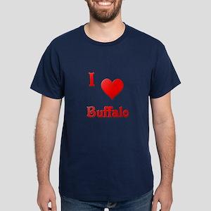 I Love Buffalo #21 Dark T-Shirt