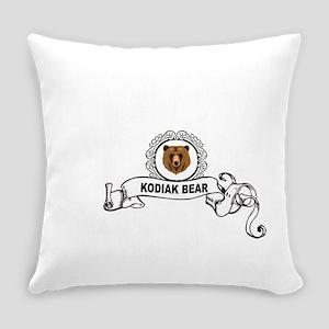 head of the kodiak Everyday Pillow
