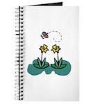 Yellow Daffoldils & Butterfly Journal