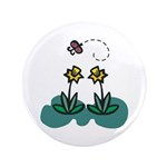Yellow Daffoldils & Butterfly 3.5