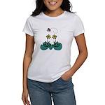 Yellow Daffoldils & Butterfly Women's T-Shirt
