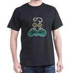 Yellow Daffoldils & Butterfly Dark T-Shirt