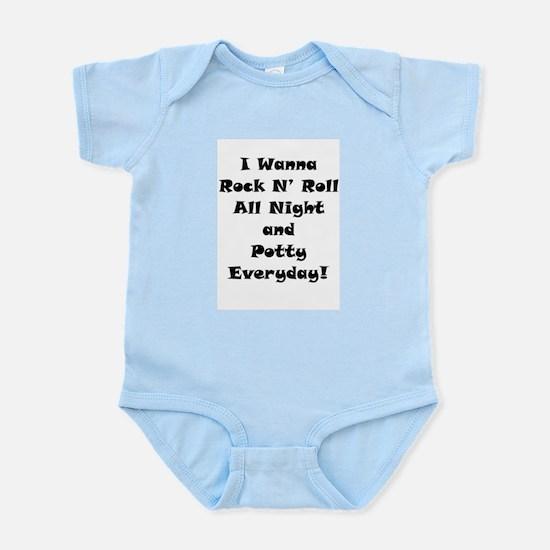 Rock N' Roll Infant Creeper