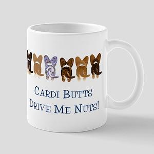 Cardi Butts Drive Me Nuts Mug