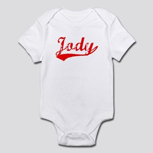 Vintage Jody (Red) Infant Bodysuit