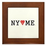 NY hearts ME (TM) Framed Tile