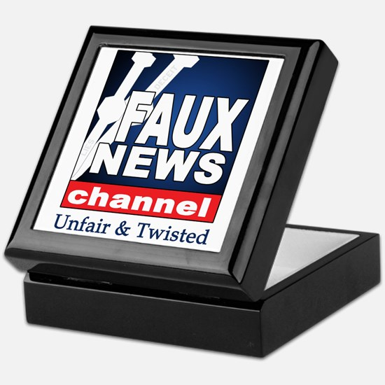 Faux News Keepsake Box