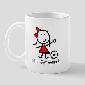Soccer - Girls Got Game Mug