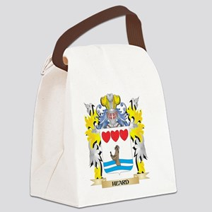 Heard Coat of Arms - Family Crest Canvas Lunch Bag