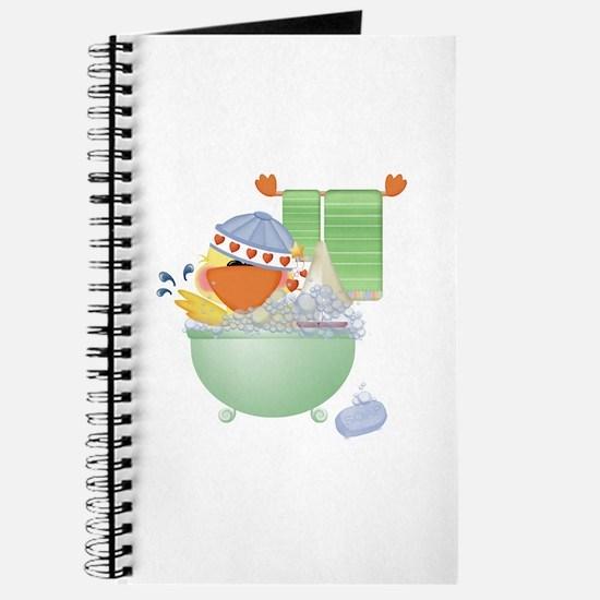 Cute Bathtime Ducky Journal