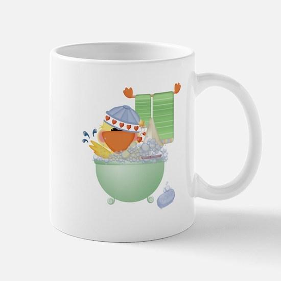 Cute Bathtime Ducky Mug