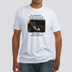 21st Century Couch Potato Fitted T-Shirt