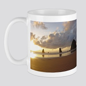 Cannon Beach, Oregon Sunset Mug