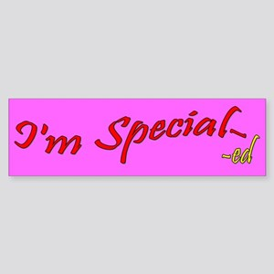 "I'm Special- -""ed"""