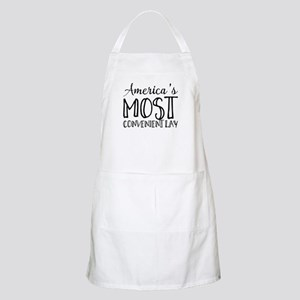 America's Most Convenient Lay Light Apron