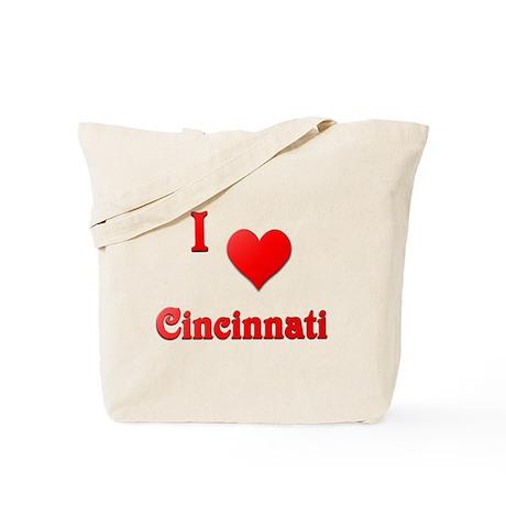 I Love Cincinnati #21 Tote Bag