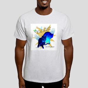 Cat Reiki Master Ash Grey T-Shirt