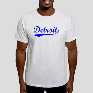 Vintage Detroit (Blue) Light T-Shirt