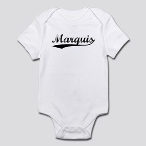 Vintage Marquis (Black) Infant Bodysuit