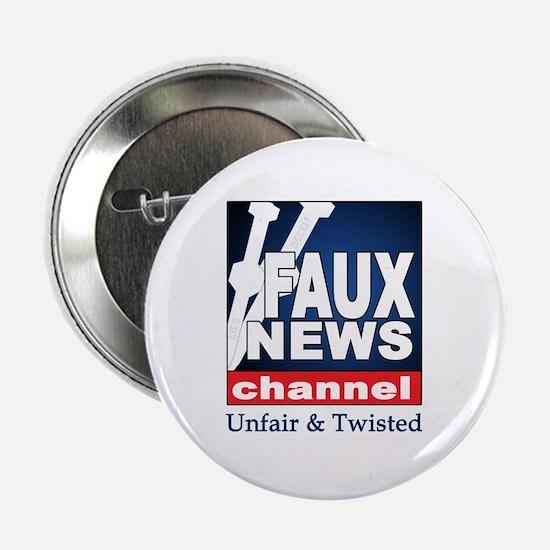 FAUX NEWS Button