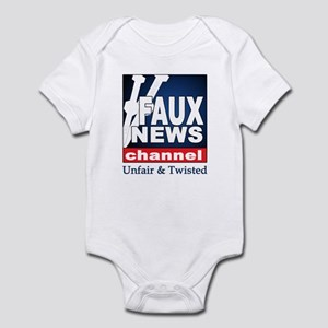 FAUX NEWS Infant Creeper