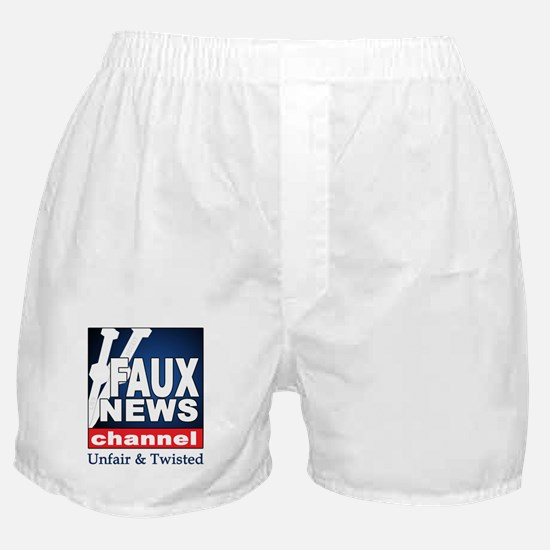 FAUX NEWS Boxer Shorts
