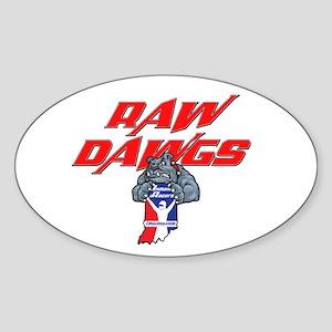 Rawdawgs Iracing League Sticker