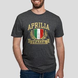 Aprilia Italia Mens Tri-blend T-Shirt