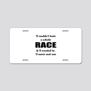 social issues Aluminum License Plate