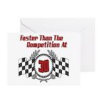 Racing At 30 Greeting Cards (Pk of 20)