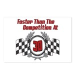 Racing At 30 Postcards (Package of 8)