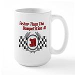 Racing At 30 Large Mug