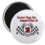 Racing At 30 Magnet