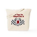 Racing At 30 Tote Bag