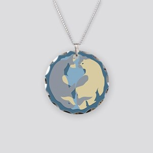 Spirit Of The North Gifts Necklace Circle Charm