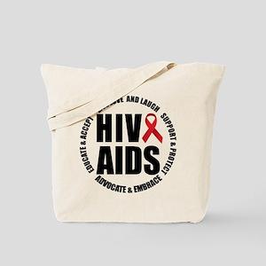 HIV/AIDS Tote Bag