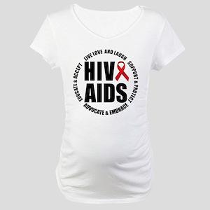 HIV/AIDS Maternity T-Shirt