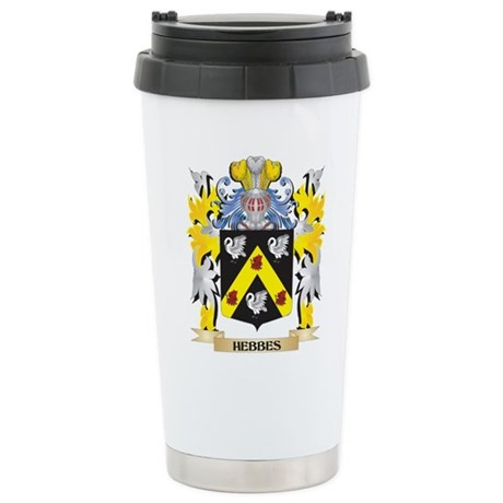 Hebbes Coat of Arms - F Stainless Steel Travel Mug
