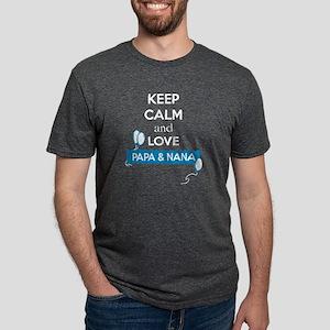 love Papa And Nana T Shirt T-Shirt