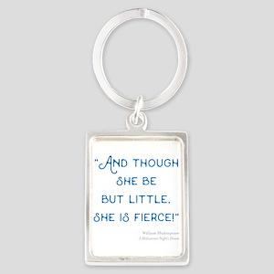 Little but Fierce! - Portrait Keychain