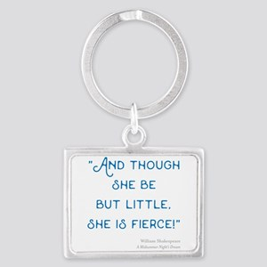 Little but Fierce! - Landscape Keychain