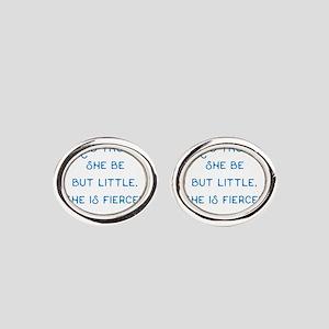 Little but Fierce! - Oval Cufflinks