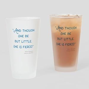 Little but Fierce! - Drinking Glass