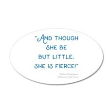 Little but Fierce! - Wall Decal