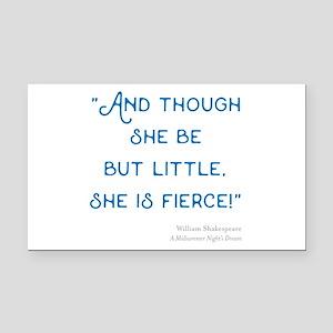 Little but Fierce! - Rectangle Car Magnet