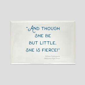 Little but Fierce! - Rectangle Magnet